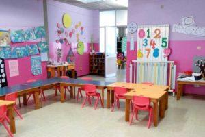 Aula Rosa Scuola Materna